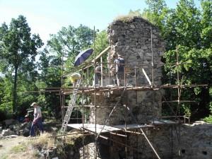 brigáda na hradě Rabštejn
