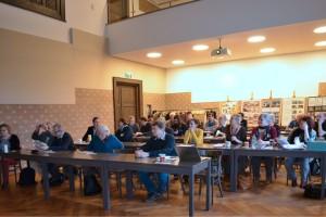 Účastníci 31. sněmu Společnosti ochránců památek ve východních Čechách